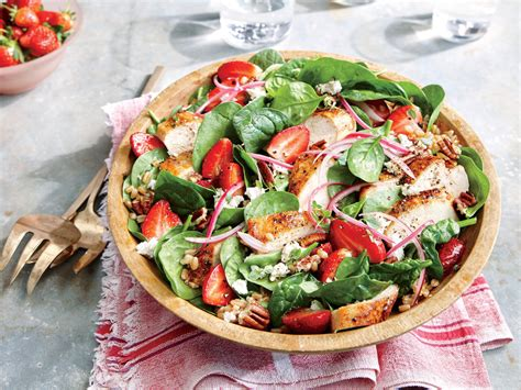 chicken salad strawberry chicken salad with pecans recipe myrecipes