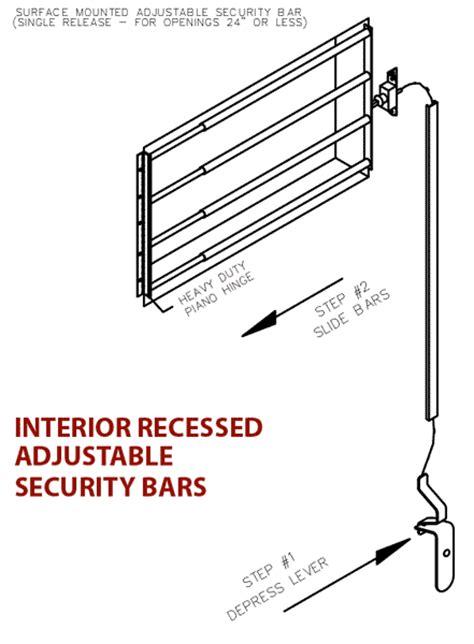 interior window bars release interior window security bars portland or