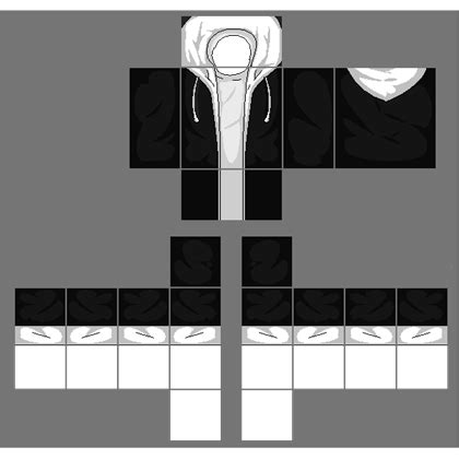 Sweater Jaket Hoodie White black jacket with white hoodie request roblox