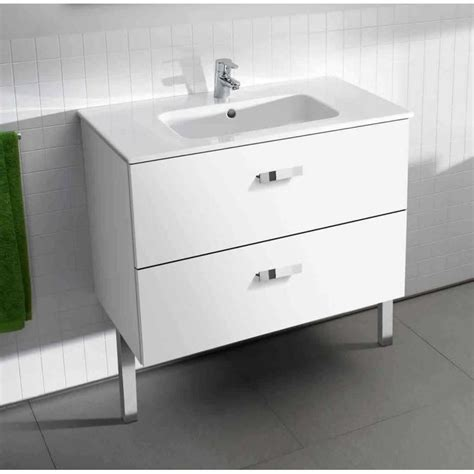 roca basic unik 800mm vanity base unit basin