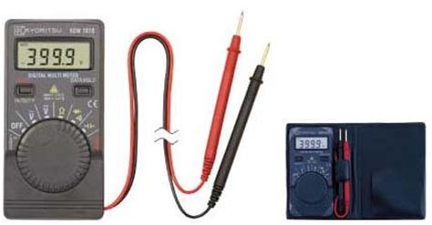 Multimeter Multi Tester Digital Pocket Kyoritsu 1018 kyoritsu 1018 digital pocket multimeter ke1018 rm121