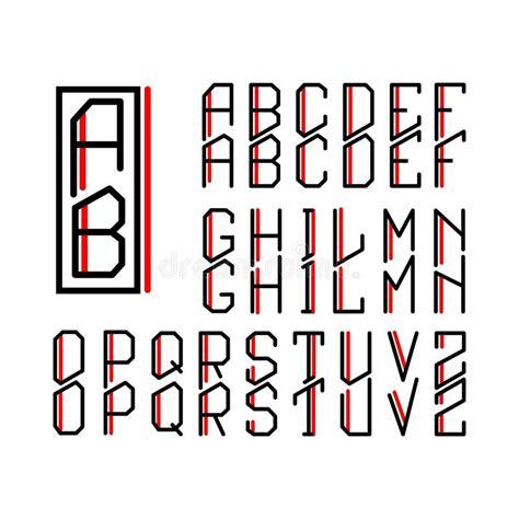 monogramma lettere monogramma nouveau e un insieme delle lettere