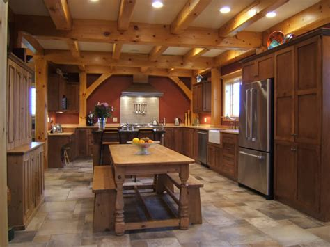 a frame kitchen ideas timber frame picture gallery individual rooms