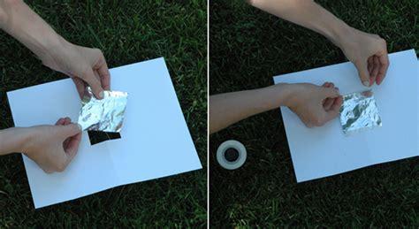 How To Make A Pinhole With Paper - how to make a pinhole project nasa jpl edu