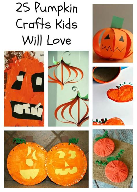 easy pumpkin crafts for easy pumpkin crafts for for preschool and beyond