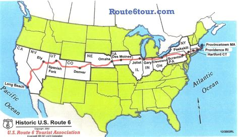map of the united states route 66 related keywords suggestions for route 6 usa
