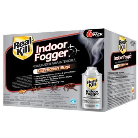 Best Carpet Flea Treatment by Real Kill 2 Oz Ready To Use Indoor Fogger 6 Pack Hg