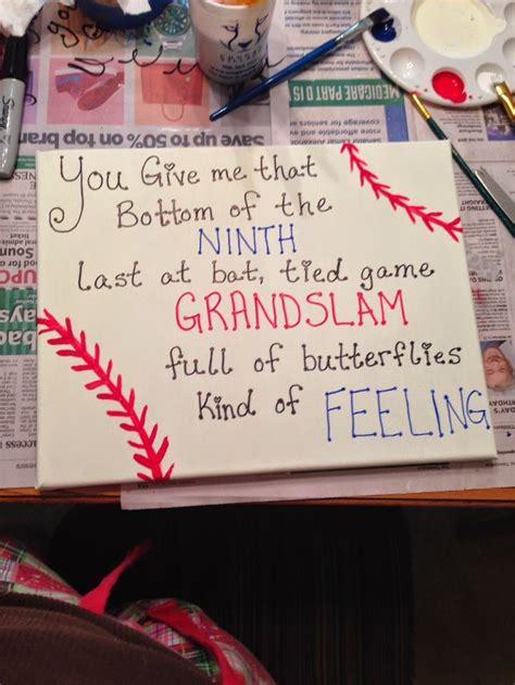 25 best ideas about baseball boyfriend gifts on pinterest
