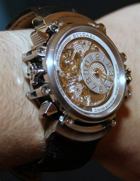 Diskon Bvlgari Skeleton White Brown Leather 17 best images about bulgari watches on chanel wrist watches and iron