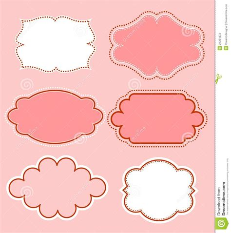 how to create doodle frames doodle frame collection stock photography image 24254672