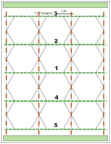 quilting hexagon templates free meer dan 1000 afbeeldingen hexagon quilting op