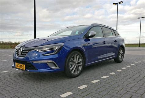 renault megane estate renault m 233 gane estate dci 110 gt line 2017 autoweek nl