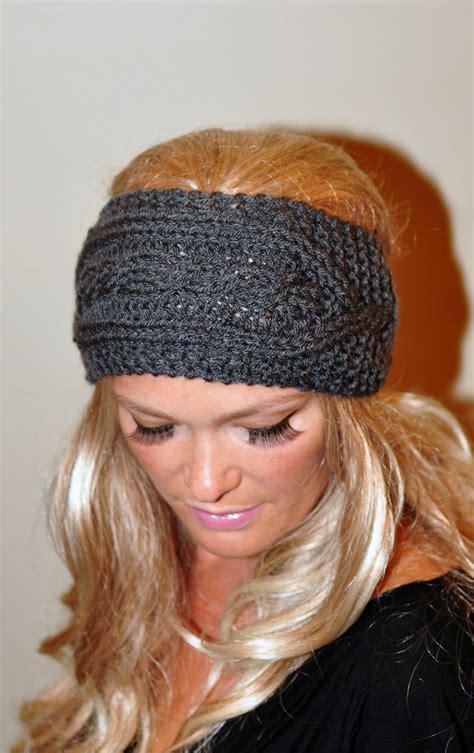 how to knit a ear warmer ear warmer crochet headband knit wrap braided earwarmer