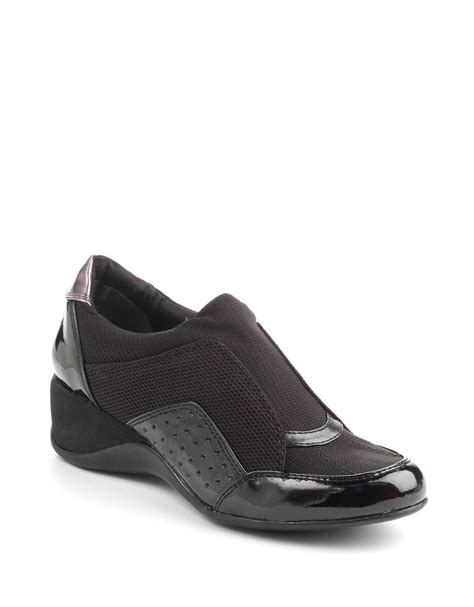 dkny shoes dkny pacific shoes in black black mesh lyst