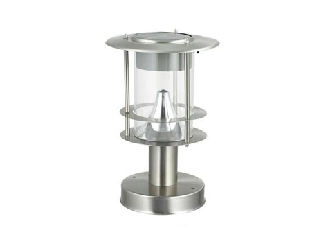 modern solar l post modern solar post light patio lighting gem