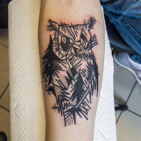 owl tattoo outline snowy owl www pixshark images galleries