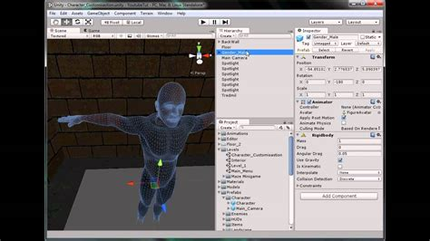 unity tutorial animation character unity 3d tutorial part 70 character creation youtube