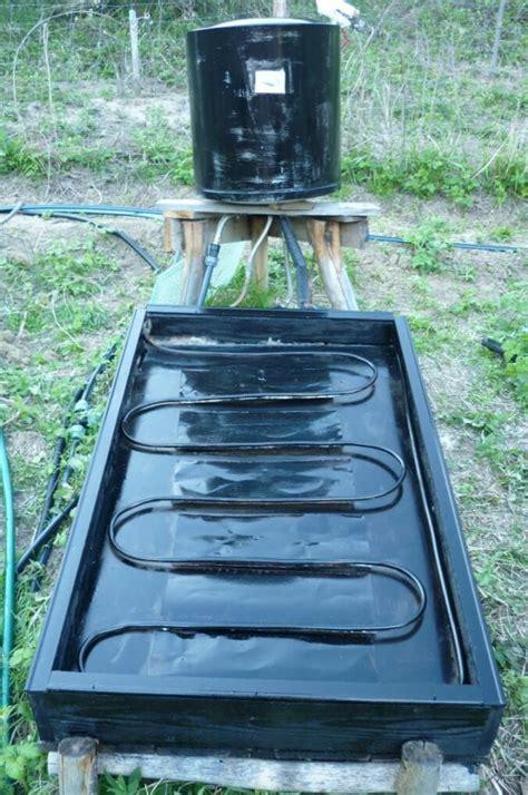 doccia solare fai da te pannello solare termico 171 b b la fossa