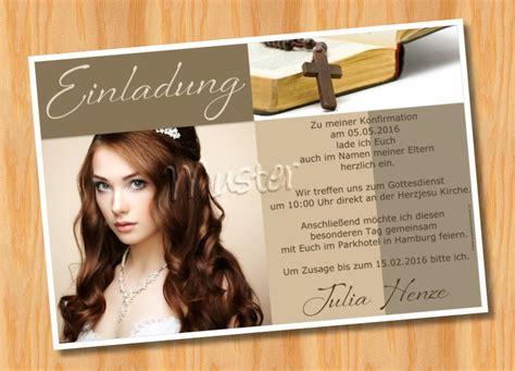 Muster Einladung Kommunion Einladungskarten Konfirmation Kommunion