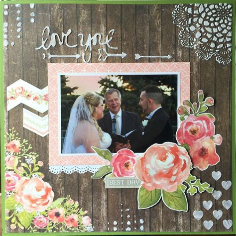 Wedding Scrapbook Layouts Ideas by 467 Best Wedding Scrapbook Pages Images On