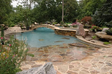backyard lagoon lagoon style pool remodel indian hill oh