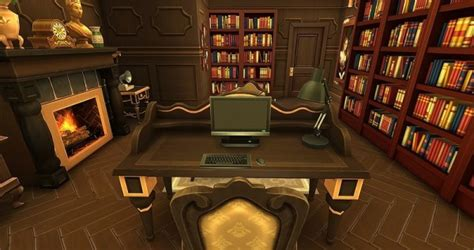 study room ihelen sims classics study room by dolkin sims 4 downloads