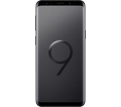 buy samsung galaxy s9 64 gb black free delivery currys