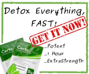 Certo Detox How To Use by Pass Your Test With Visine The Right Way 187 Honest Mj