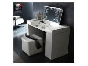 nightfly white vanity table modern sense furniture