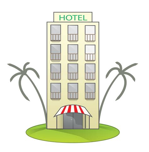 hotel clipart free tropical hotel clip