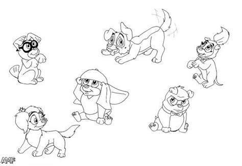 29 awesome all dogs go to heaven coloring pages