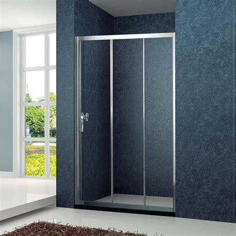 Cheap Sliding Shower Doors The Best Custom Cheap Alcove 3 Sliding Bi Fold Shower Screen Chrome Finish Kd4001