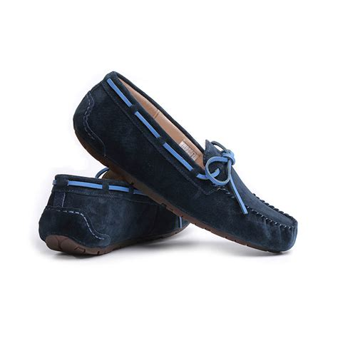 design flat shoes kulla s casual loafers boys navy blue bowknot