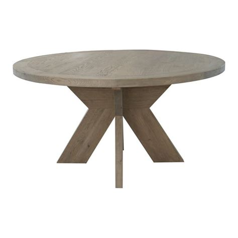 Weathered Oak Dining Table Large Weathered Oak Nordic Dining Table Temple Webster