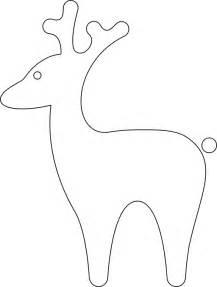 Reindeer Silhouette Outline by Reindeer Outline Clipart Best