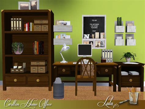 the sims resource tsr carlton home office by lulu265