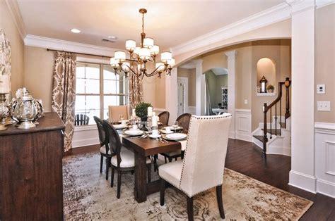 beige dining room essex homes katherine model dining room sherwin