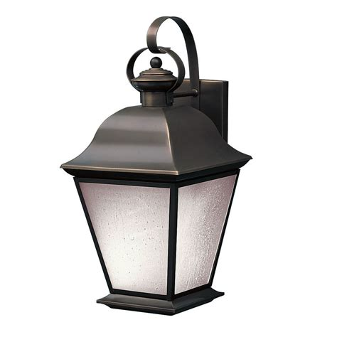 Outdoor Lighting Wall Mount Kichler 10909oz Mount Vernon Energy Saver Exterior Wall Mount