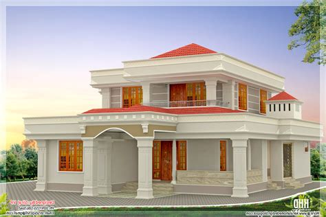 beautiful interior paint colours for traditional small houses at kerala home combo