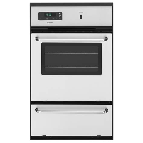 Oven Gas Standar maytag cwg3100aas 24 gas single standard clean wall oven sears outlet
