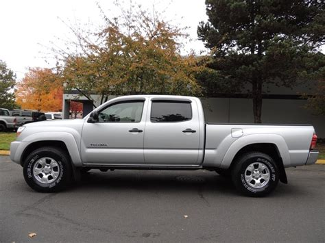 toyota tacoma double cab long bed 2005 toyota tacoma v6 4x4 double cab long bed 1 owner