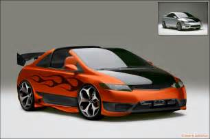 2006 honda civic si digimod by axari on deviantart