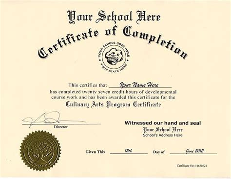 high school diploma template with seal diploma certificate template best business template