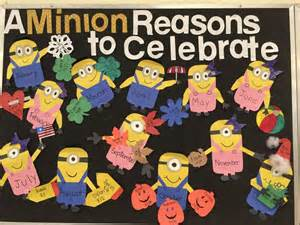 Minions Party Decorations 25 Best Ideas About Birthday Bulletin Boards On Pinterest
