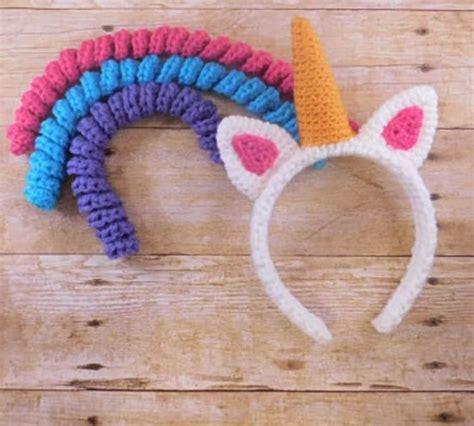 pattern for unicorn headband crochet unicorn headband pattern