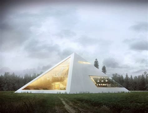 pyramid house designs modern pyramid house by juan carlos ramos my modern met