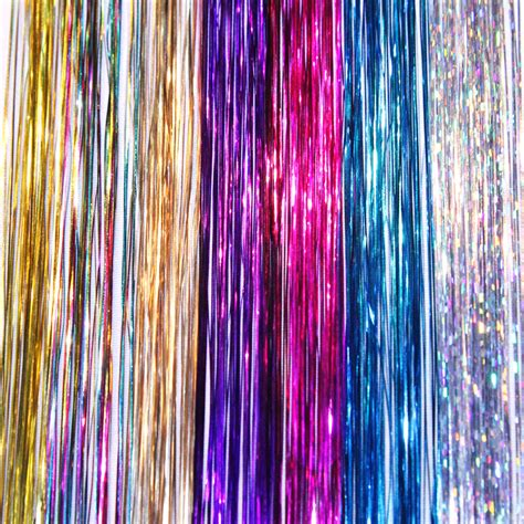 tinsel strands 28 images new 40 quot hair tinsel 210