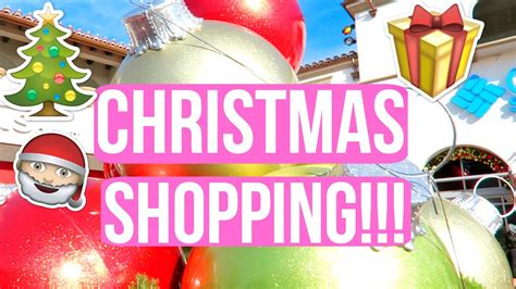 christmas shopping with the family vlogmas day 5 youtube