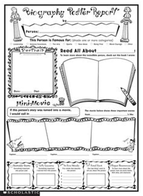 biography book report wanted poster biography ideas on pinterest biographies book reports