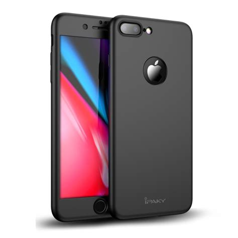 Iphone 8 Plus Ipaky 3 In 1 With I Ring Original ipaky beskyttelsesfilm iphone 8 plus iphonehuset no